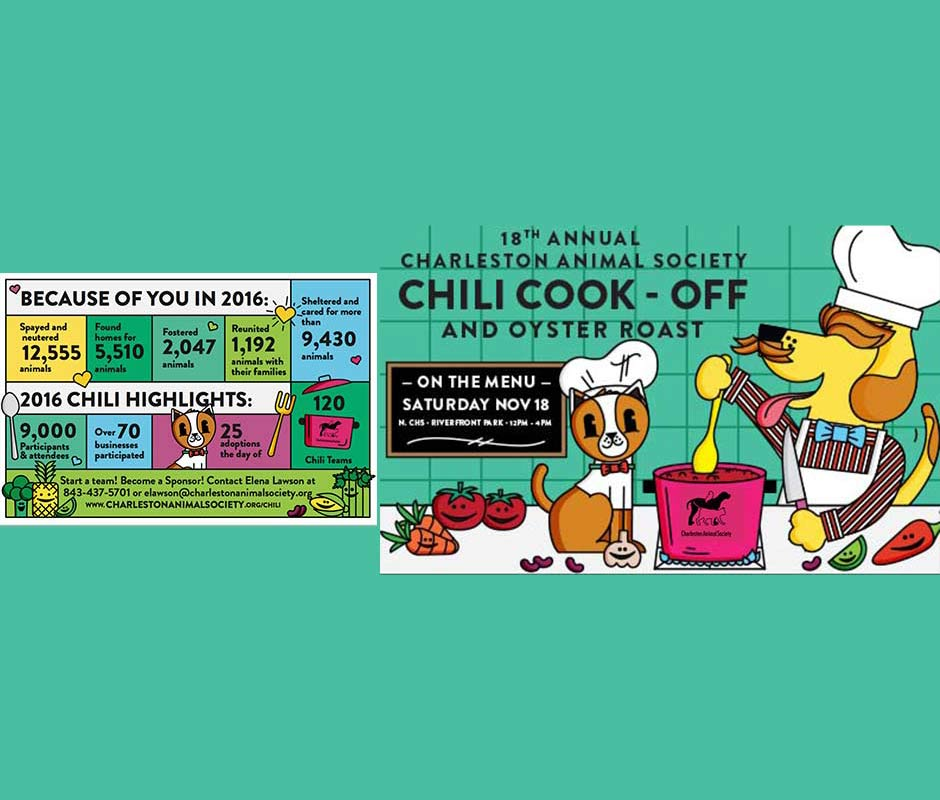 Charleston Animal Society's Annual Chili Cook-off and Oyster Roast thumbnail