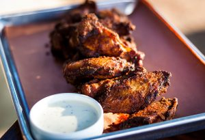 Home Team BBQ Smoked Chicken Wings by Chef Aaron Siegel