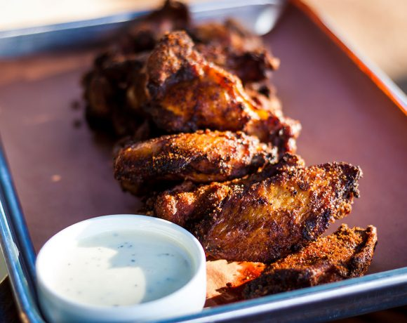 Smoked BBQ Chicken Wings