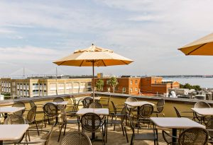 The Rooftop Bar at Vendue: Al Fresco Fun