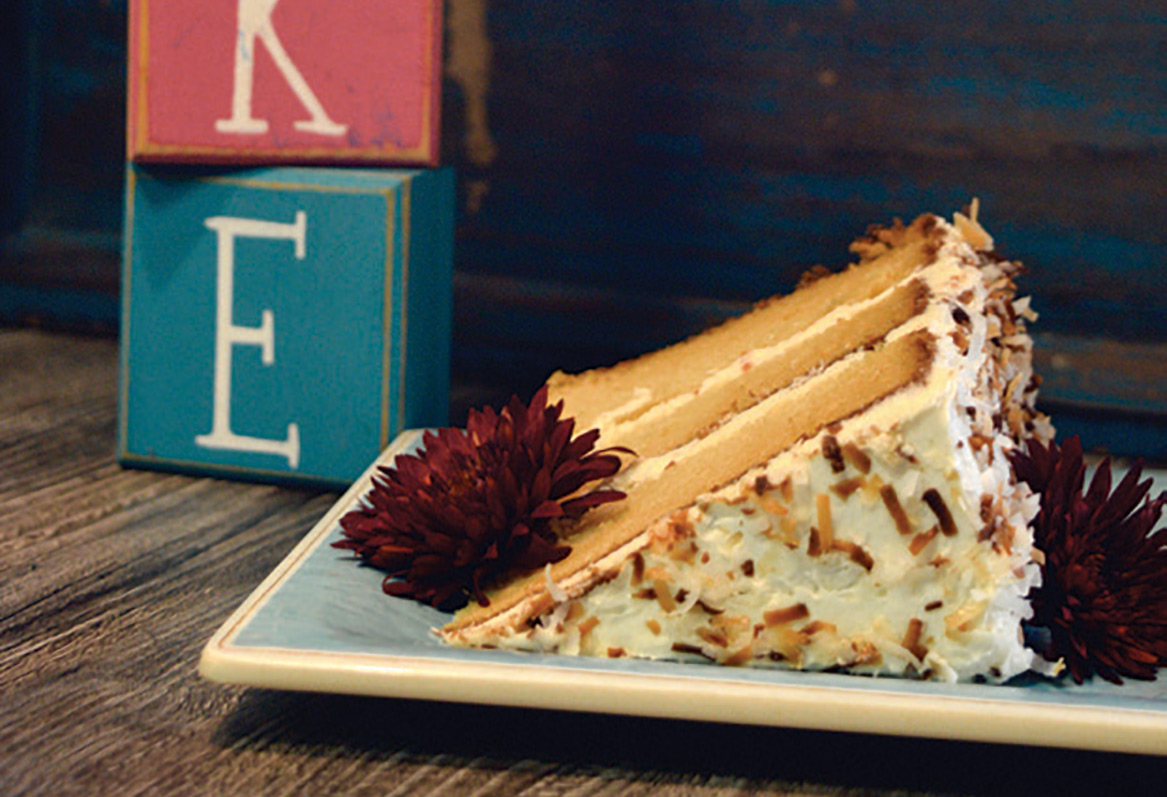 Page's Okra Grill's Coconut Cake