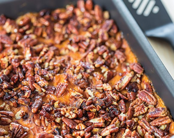 Sticky Finger's Sweet Potato Casserole