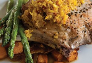 Laura Alberts Tasteful Options' Sweet Tea Brined Pork Chops