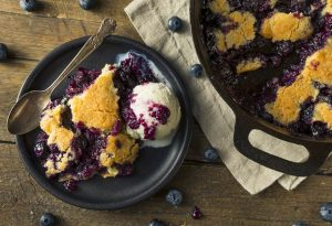 Blueberry Cobbler from Grace of Charleston
