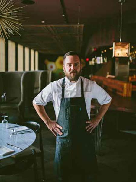 Chef Josh Keeler of 492 in Charleston, SC
