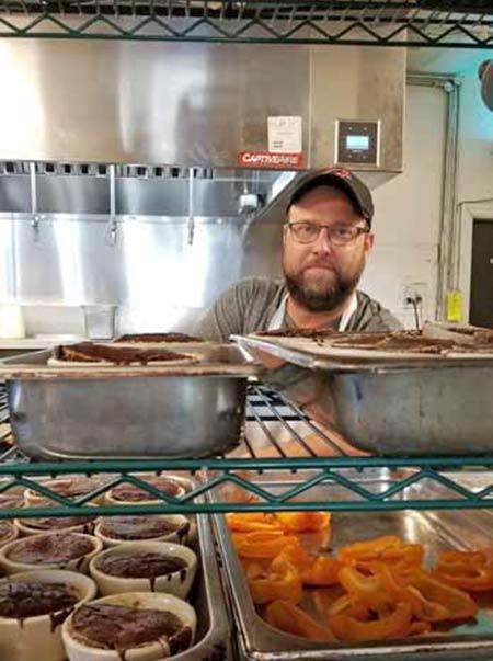 Chef Taylor Still of High Thyme Cuisine in Sullivan's Island, SC