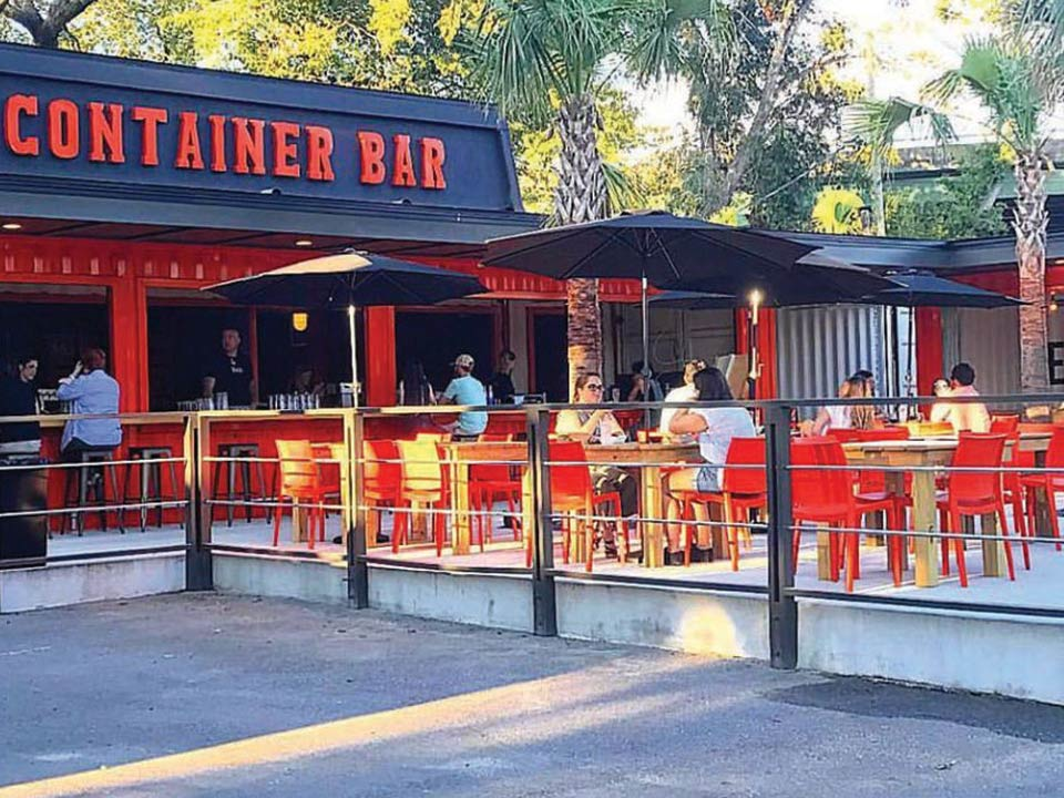 Container Bar in Charleston, SC