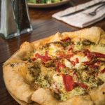 EMBER WOOD FIRED KITCHEN: Verde Pizza: at Ember Wood Fired Kitchen. Food & Fashion 2018