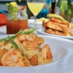 PAGE'S OKRA GRILL: Shrimp 'n' Grits. Food & Fashion 2018