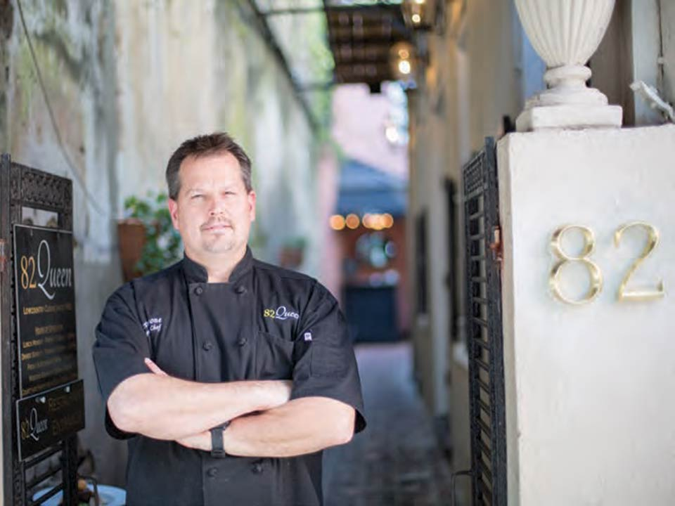 Executive Chef Steve Stone of 82 Queen