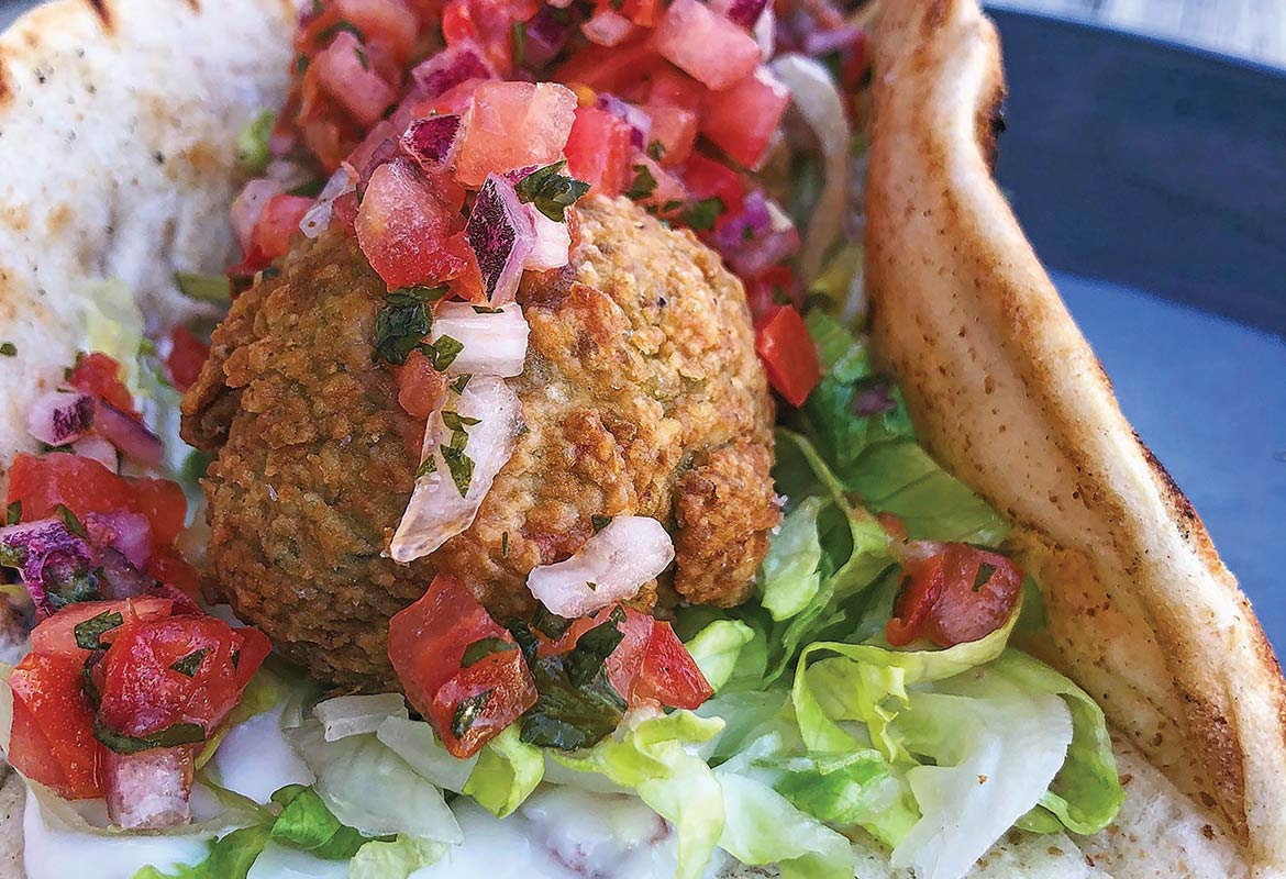 Edamame Falafel by Chef Tim Morton of Mercantile and Mash