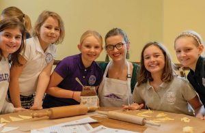 Ashley Hall Students Master the Art of French Cooking