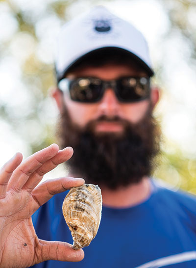Lowcountry Oyster Company's Trey McMillan.