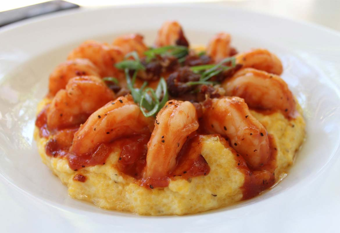 Photo: 82 Queen's World Famous BBQ Shrimp & Grits