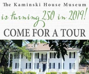 The Kaminski House Museum - is turning 250. come in for a tour!