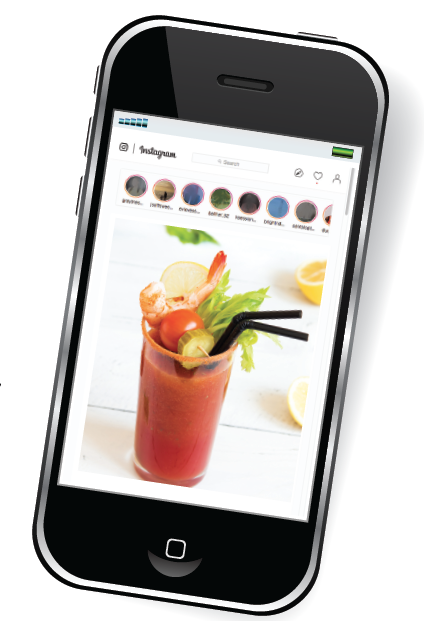 Instagram Bloody Mary