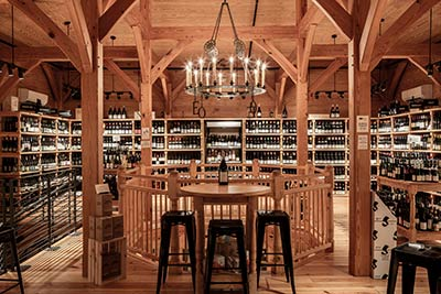 You're bound to find the perfect wine at Edmund's Oast Exchange.