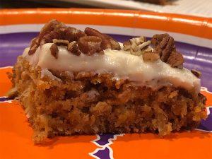 Clemson Carrot Cake