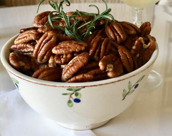 Spicy & Sweet Pecans
