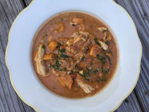 Chicken and Peanut Stew from The Glass Onion