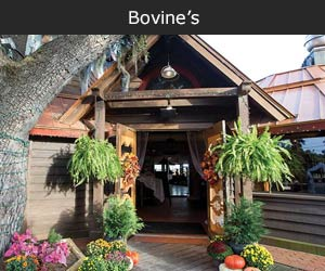 Bovine's Wood Fired Steaks, Seafood & Pizza