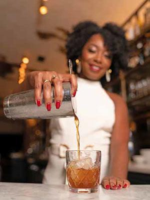 Taneka Reaves of the Cocktail Bandits.