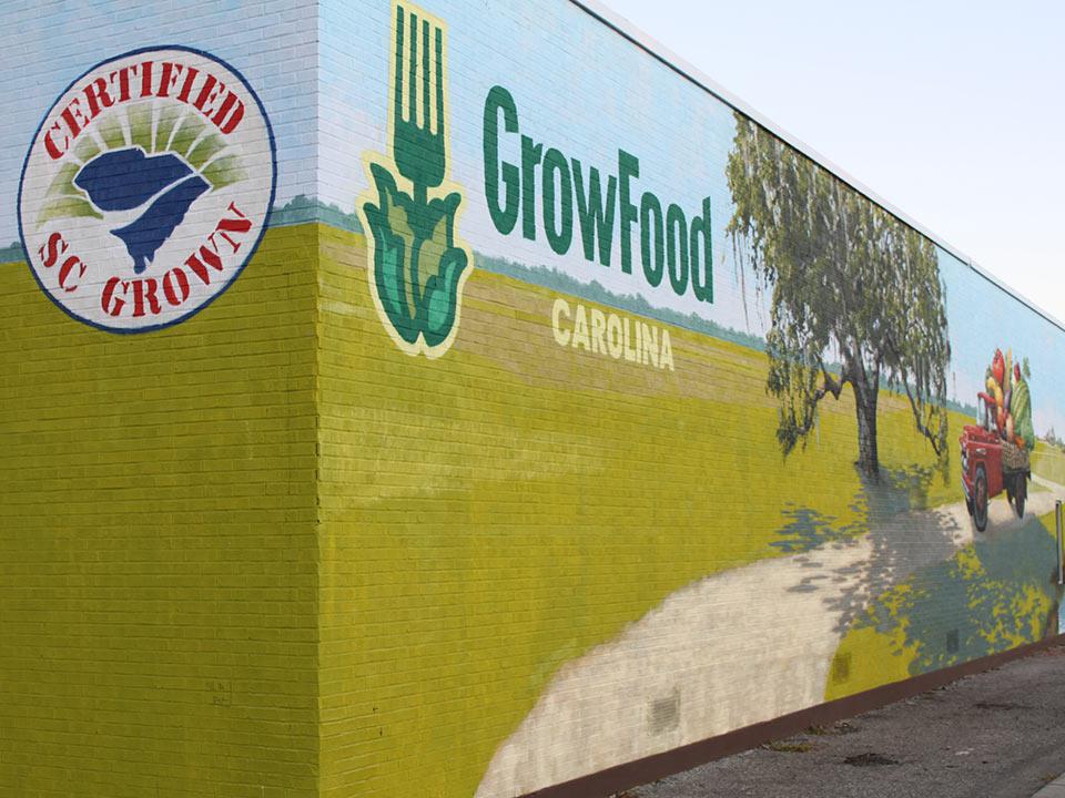 The GrowFood Carolina warehouse, located on Morrison Drive.