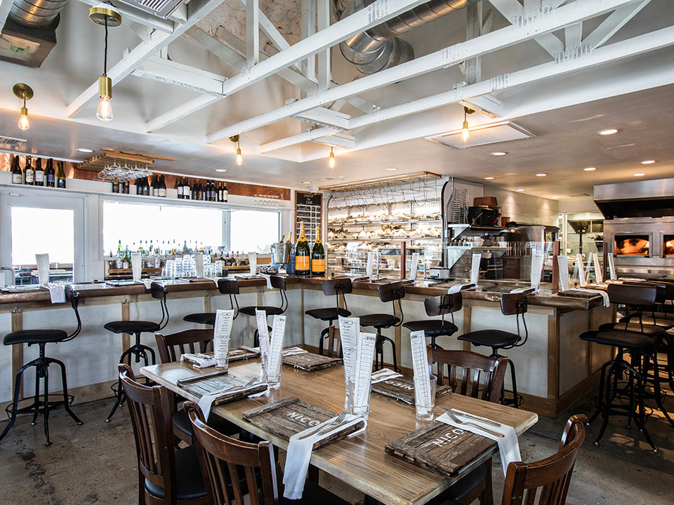 Nico Oysters + Seafood interior photo in Mount Pleasant, SC's Shem Creek.