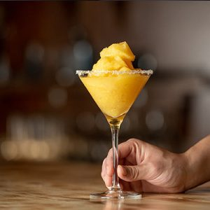 Peach cocktail photo