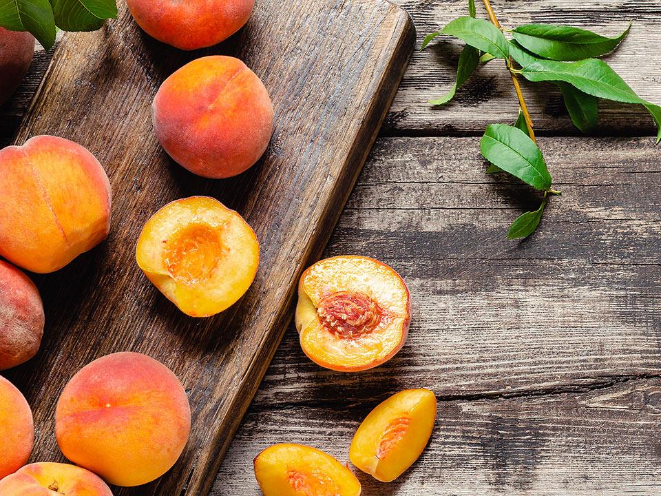 Yummy, yummy peaches